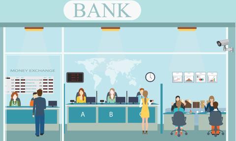 Banki podnoszą opłaty za operacje w placówkach