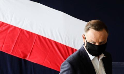 Prezydent Andrzej Duda: Jestem. Nie zniknąłem