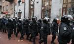 Na Ukraine w 2017 r. zostało poszkodowanych 1500 policjantów