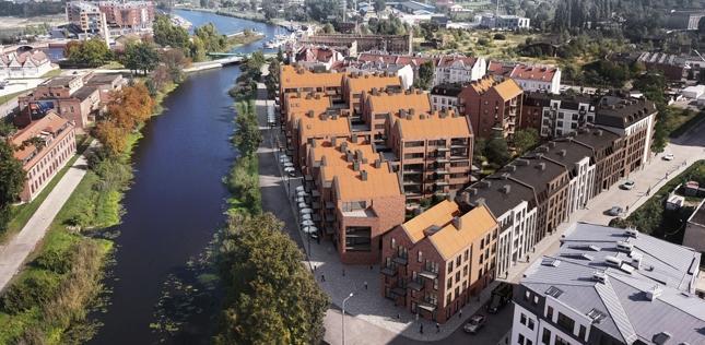 W Gdańsku nad Motławą osiedle Riverview buduje Vastint Polska.