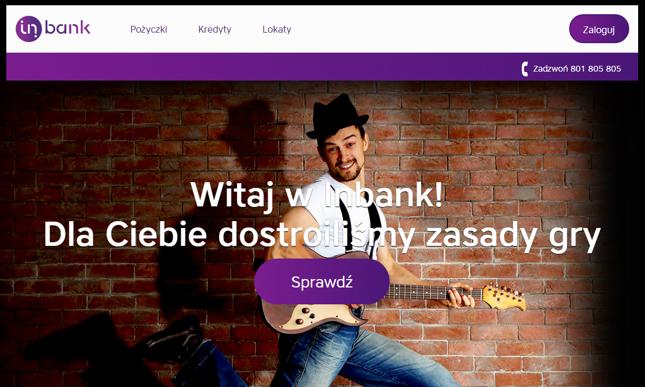 Kredyt gotówkowy w Inbanku – warunki