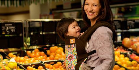 kobiecy pomysł na biznes: nosidełka dla dzieci