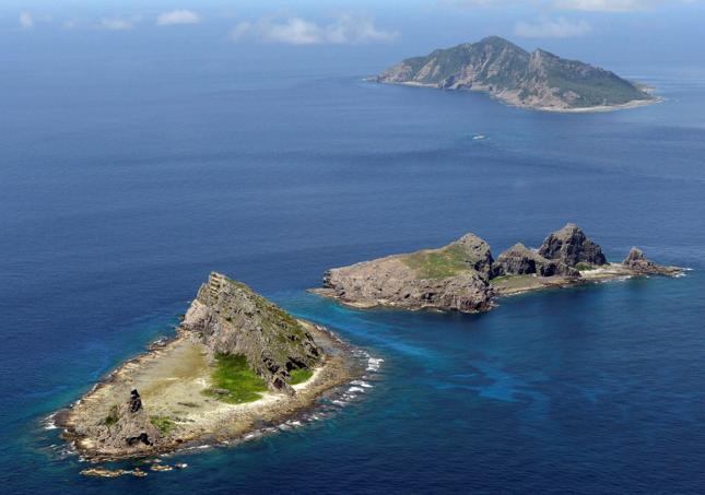 Sporne wyspy Diaoyu (jap. Senkaku) na Morzu Wschodniochińskim