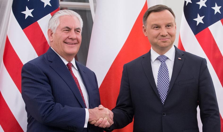Szczerski: Prezydent Duda i sekretarz stanu USA uzgodnili polsko-amerykańską mapę działań