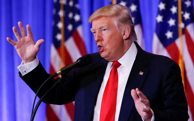 Prezydent elekt Donald Trump