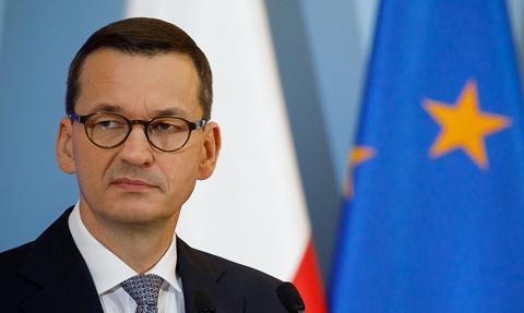 Premier Morawiecki przybył na nadzwyczajny szczyt UE do Brukseli