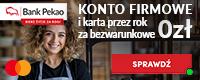 Otwórz konto dla firm i zyskaj do 1100 zł premii!