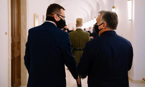 Spotkanie Morawiecki-Orban. Rzecznik rządu: Jesteśmy otwarci na negocjacje unijne