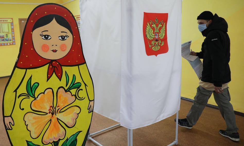 Jedna Rosja zwyciężyła w wyborach parlamentarnych