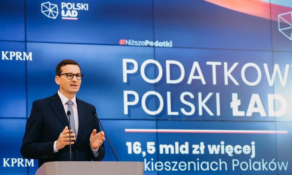 """Rząd przyjął projekty zmian podatkowych w ramach """"Polskiego ładu"""""""