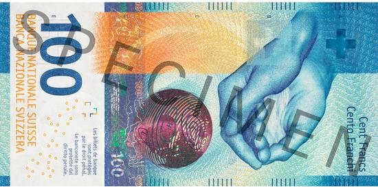 100 franków szwajcarskich