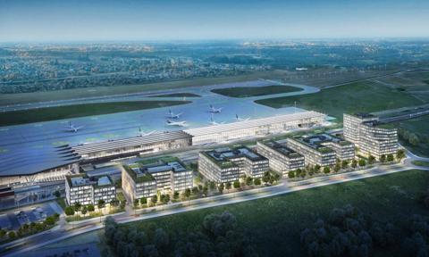 Unikatowy projekt w Gdańsku. Powstaje pierwsze centrum biurowe na lotnisku