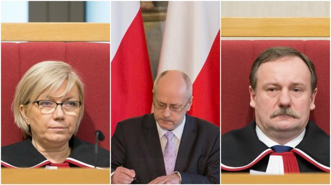 Julia Przyłębska, Zbigniew Jędrzejewski i Piotr Pszczółkowski byli nieobecni podczas obrad ZO TK