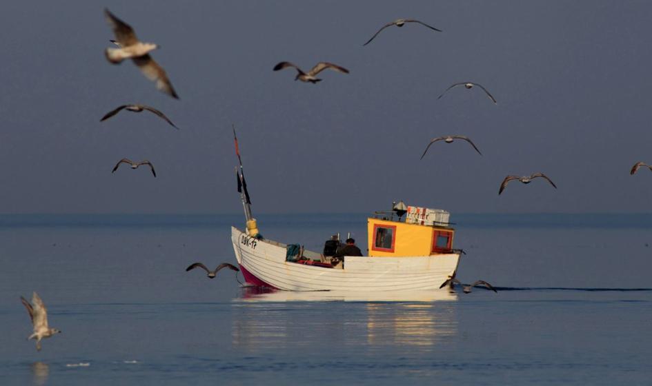 Protest rybaków rekreacyjnych. Utrudnienia w ruchu w drodze na Hel