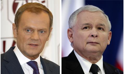 Tusk do Kaczyńskiego: Chodźmy na długi spacer, uwolnijmy Andrzeja i Rafała od naszych sporów