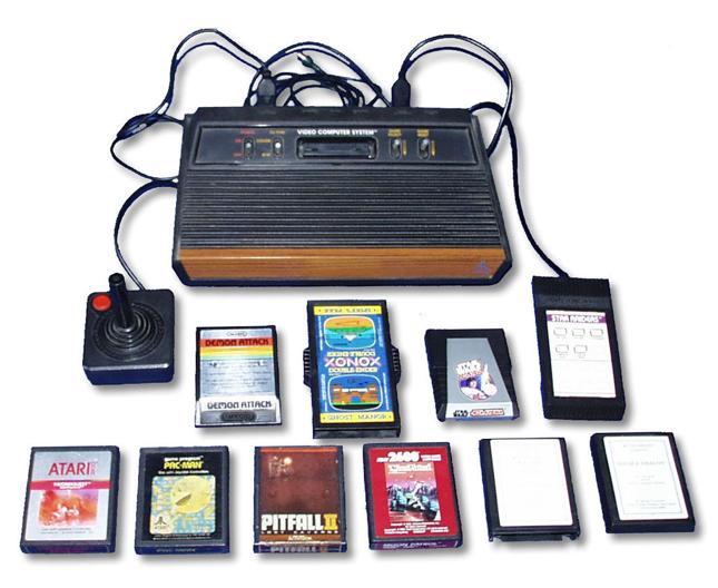 Pierwsza konsola Atari - Atari 2600