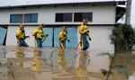 Ekipy ratunkowe poszukują ocalałych z tajfunu w Japonii
