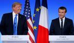 Trump rozmawiał z Macronem o kwestiach bezpieczeństwa i handlu