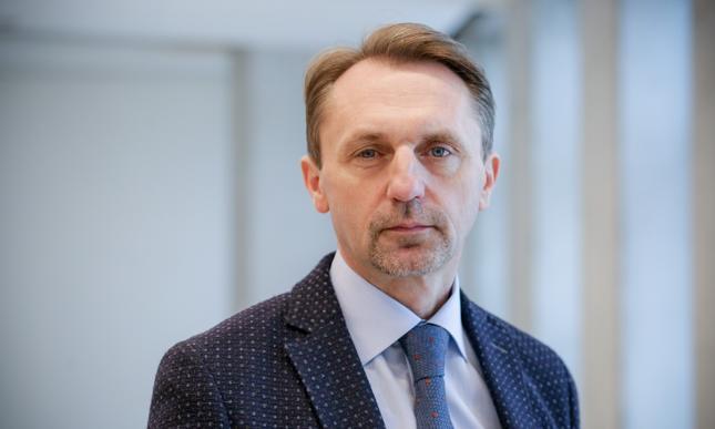 Prezes Budimeksu Dariusz Blocher