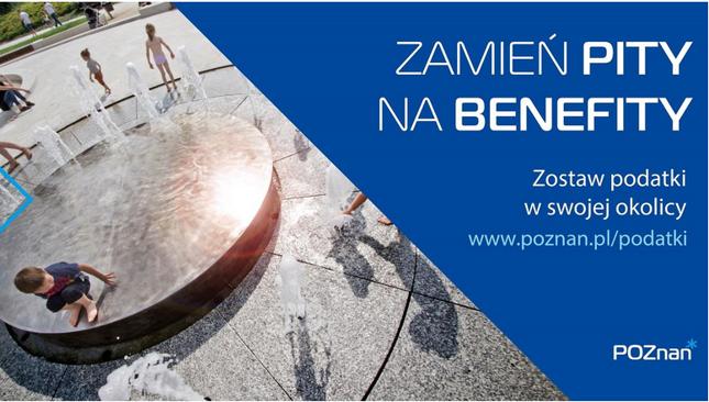 """""""Zmień PIT-y na benefity"""""""