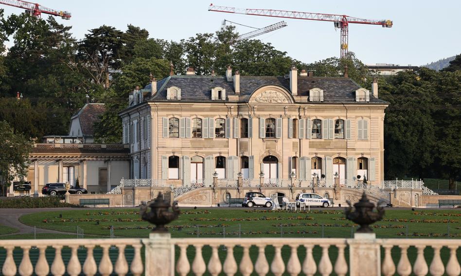 Spotkanie Bidena i Putina w okazałej posiadłości w Genewie