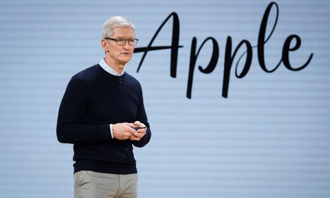 Szef Apple najlepiej zarabiającym prezesem w branży