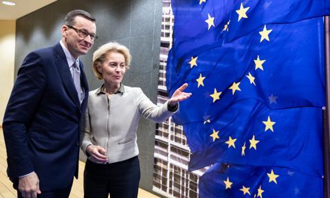 Mateusz Morawiecki pisze kolejny list do szefowej KE