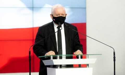 """Kaczyński apeluje o promocję szczepień. """"Musimy w końcu z tą zarazą wygrać"""""""