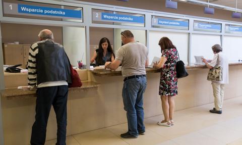 MF: 79 proc. klientów zadowolonych po wizycie w urzędzie skarbowym