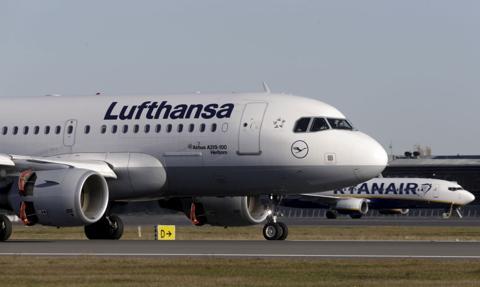 Mińsk opóźnił wylot samolotu Lufthansy z powodu gróźb o zamachu