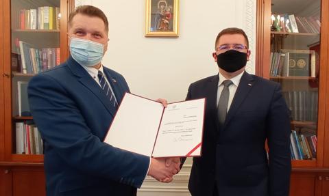 Tomasz Rzymkowski powołany na stanowisko sekretarza stanu w MEiN