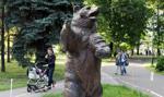 Miś Wojtek spaceruje w Edynburgu