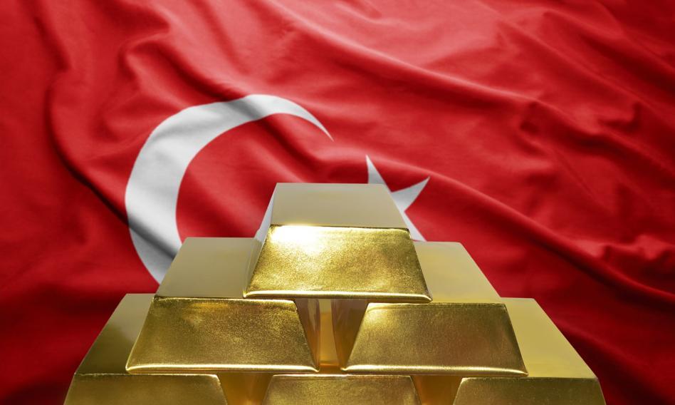 Turcja gromadzi złoto