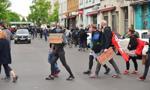 Kilka tysięcy uczestników w nielegalnych marszach w Berlinie