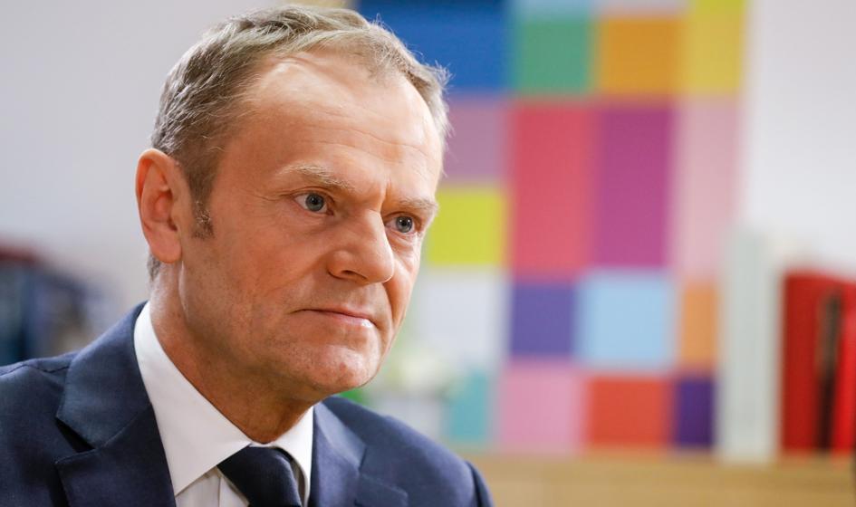 Tusk: To nie Polska, tylko Kaczyński ze swoją partią wychodzą z Unii