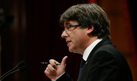 Puigdemont: Hiszpania nie szanuje praworządności
