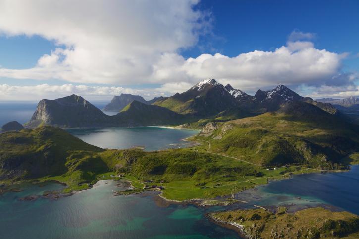 piękna norwegia foto