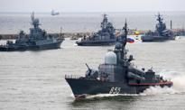 Rosyjskie okręty wpłynęły do kanału La Manche