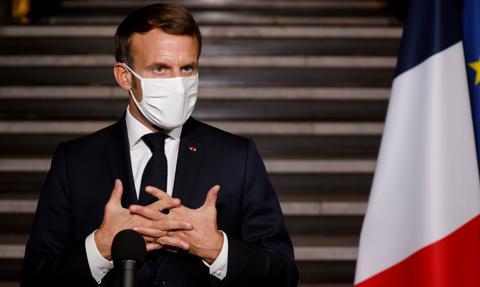 Macron zapowiada szczepienia na Covid-19 na wielką skalę