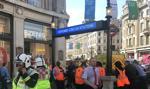 Ewakuacja stacji londyńskiego metra Oxford Circus