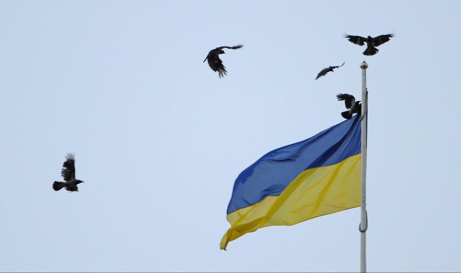 Awaria w zakładach azotowych na Ukrainie. Ruda chmura nad Równem