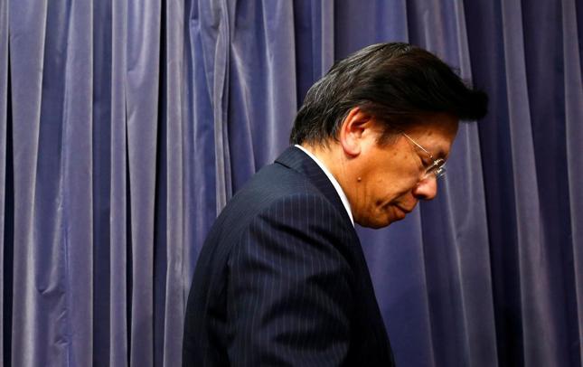 Prezes Mitsubishi Tetsuro Aikawa