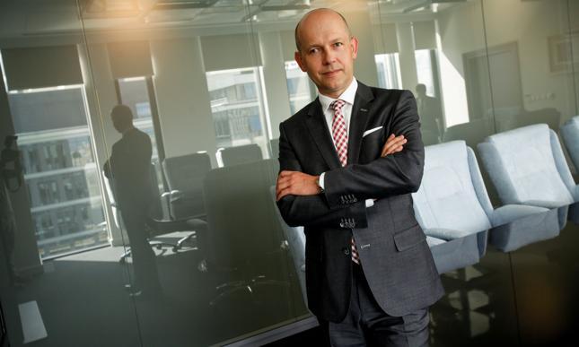 Piotr Kaczmarek, prezes zarządu Getin Holding SA.