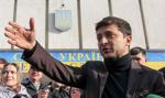 Sondaż: komik Zełenski pozostaje faworytem wyborów prezydenckich na Ukrainie