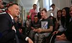 Prezydent o propozycjach rządu dot. niepełnosprawnych: robi się tyle, ile się da