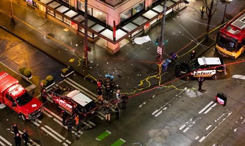 Strzelanina w Seattle. Są ofiary
