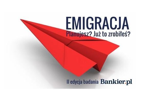 II badanie opinii czytelników Bankier.pl o emigracji