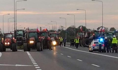 Protesty rolników. Blokady dróg w całym kraju