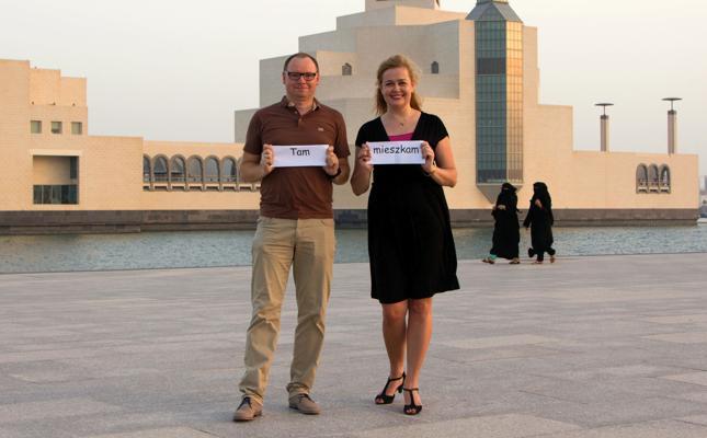 Andrzej i Aneta Borysławscy - Polacy w Katarze