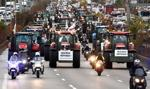 Rolnicy blokują Paryż i Lyon